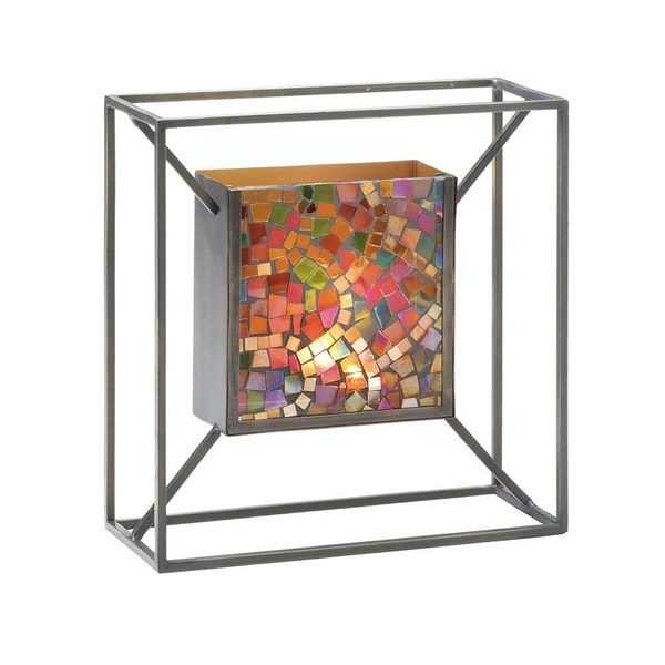 Gallery Artistic Colored Wall Candle Holder 24678633
