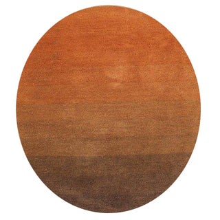 Orange Round Oval Amp Square Area Rugs Shop The Best