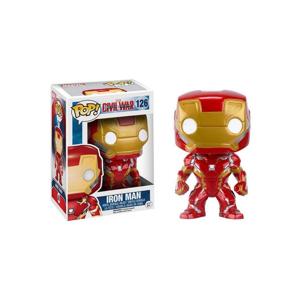 Funko Pop! Marvel Heroes Captain America 3 Civil War Ironman Bobblehead 24703010