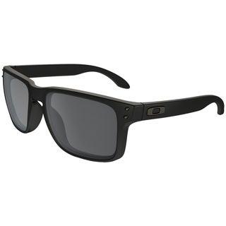 black friday oakley sunglasses sale w9u0  Oakley Men's Holbrook OO9102-63 Men's Matte Black Frame Black Iridium Lens  Sunglasses
