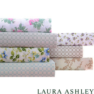Laura Ashley 300 Thread Count Cotton Sheet Set