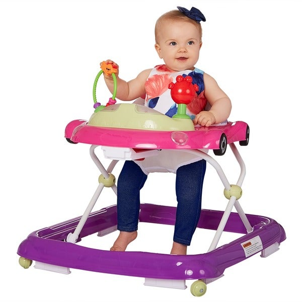 Dream On Me Pink On-The-Go Activity Walker 24722581