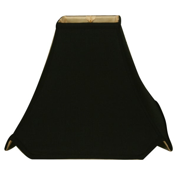 Royal Designs Pagoda Basic Lamp Shade, Black, 3.5 x 3.5 x 8 x 8 x 7 24723499