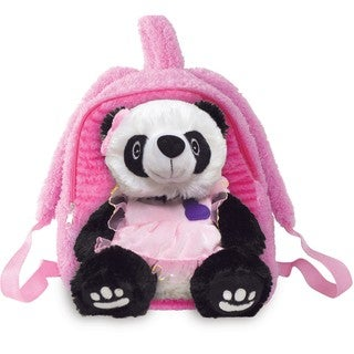 Best Buddy Pretty Pink Panda Bear Toddler Backpack