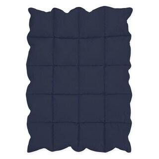 Sweet Jojo Designs Navy Blue Baby Crib Down Alternative Comforter Blanket