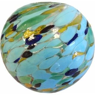 Aurora Glow Solar Glass String Lights - Sea Glass