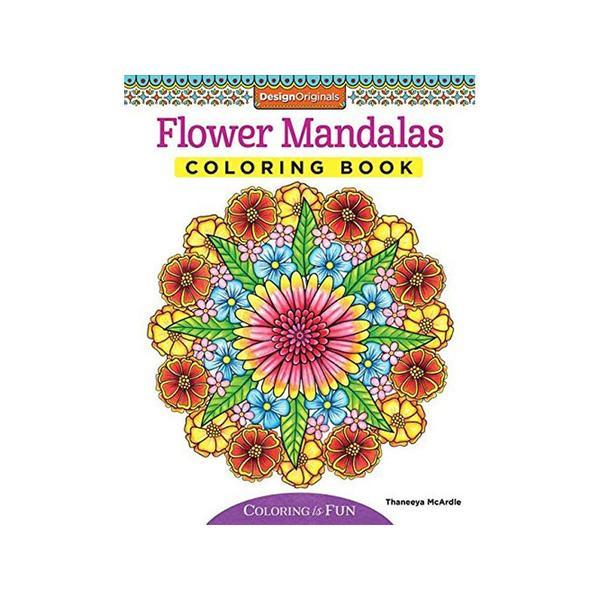 Design Originals Flower Mandalas Coloring Book 24764168