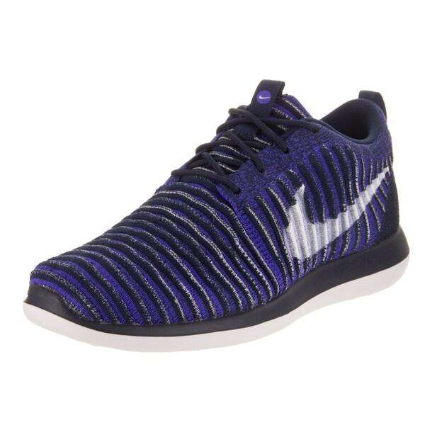 Nike Kids Roshe Two Flyknit Blue Running Shoes 24765871