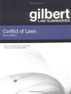 Gilbert Law Summaries: Conflict of Laws (Paperback)