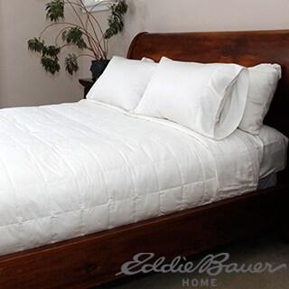 Eddie Bauer Oversized Prima Loft Blanket