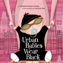 Urban Babies Wear Black (Board book)