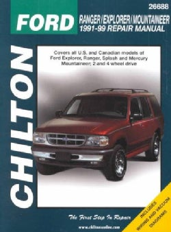 Chilton's Ford Ranger/Explorer/Mountaineer 1991-99 Repair Manual (Paperback)