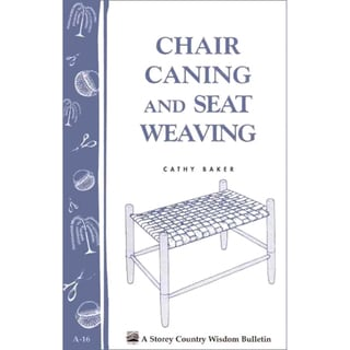 Chair Caning: Cane, Rush and Related Techniques of Seat Weaving (Paperback)