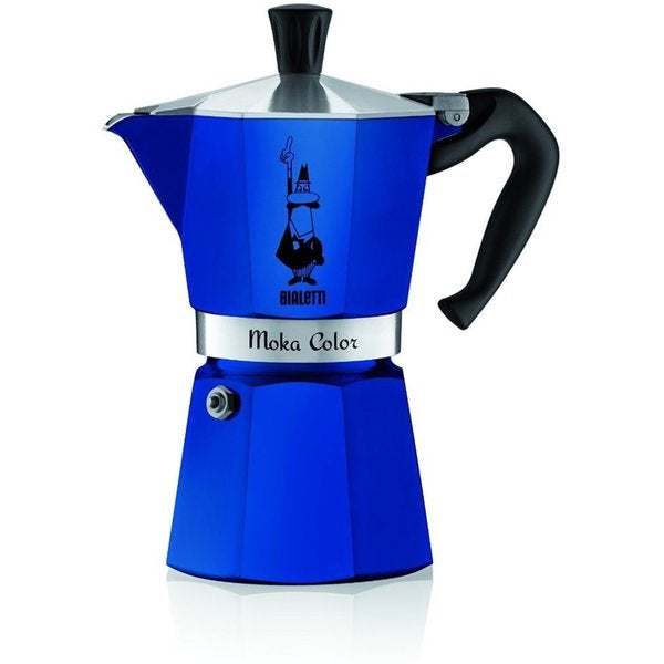 Moka Color Stovetop 6 Cup Espresso Maker 24902274