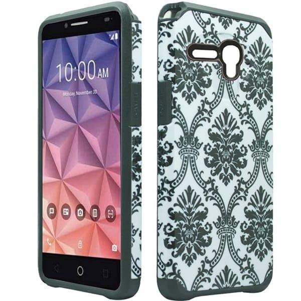 Alcatel Fierce 5054 Style 2 Damask XL Slim Case 24902702