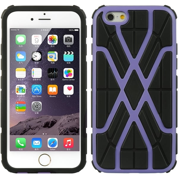 Apple iPhone 6/6S Black Spider Web 4.7-inch Hybrid Case 24902820