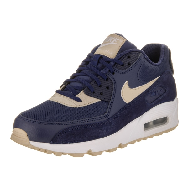 Nike Women's Air Max 90 Blue Running Shoes 24924135