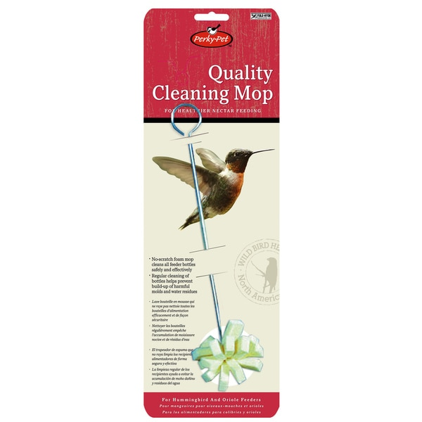 Perky Pet Hummingbird Foam Feeder Cleaning Mop 24944699