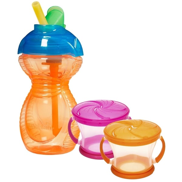 Munchkin Snack and Drink Multicolor Plastic Set 24945943