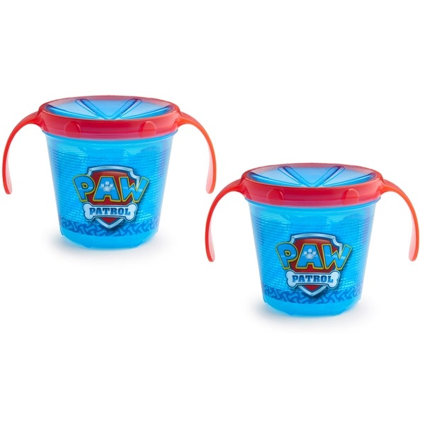 Munchkin Paw Patrol Blue Plastic Snack Catcher (Set of 2) 24945956