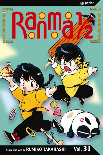 Ranma 1/2 31: Of Mushrooms and Boys (Paperback)