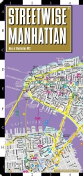 Streetwise Manhattan: City Center Street Map of Manhattan, New York (Sheet map)