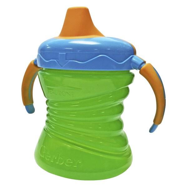 NUK Gerber Graduates Green Plastic Fun Grips Trainer 7-ounce Single Cup 24963188