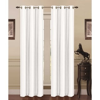 "Foam-Backed 76""x84"" Blackout Grommet Curtain Panel Pair - 76 x 84"