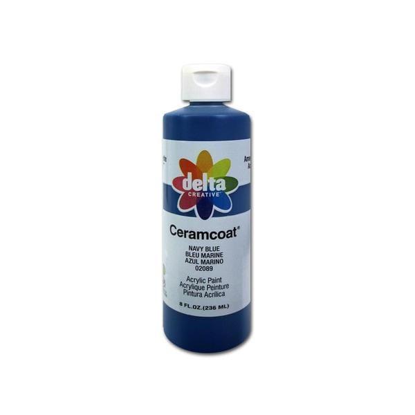 Delta Ceramcoat Acrylic 8oz Navy Blue 24963715