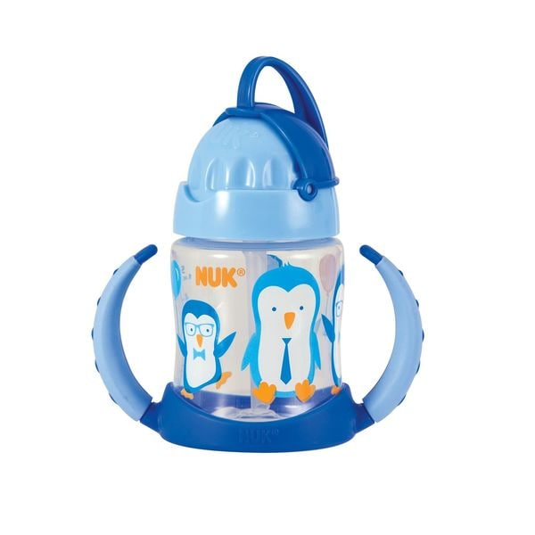 NUK Blue 5-ounce Straw Learner Cup 24963856