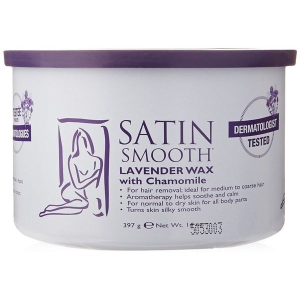 Satin Smooth 14-ounce Lavender Wax with Chamomile 24969584