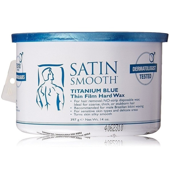 Satin Smooth 14-ounce Titanium Blue Wax 24969591
