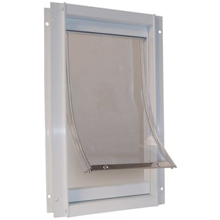 Ideal Pet Products DDXLW 12-5/8 X 18-13/16 Extra-Large White Deluxe Pet Door