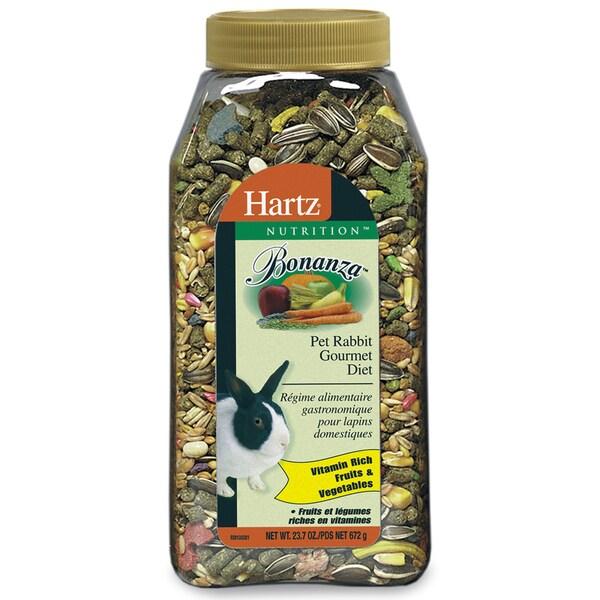 Hartz 23.75 Oz Nutrition Bonanza Gourmet Rabbit Diet 24978789