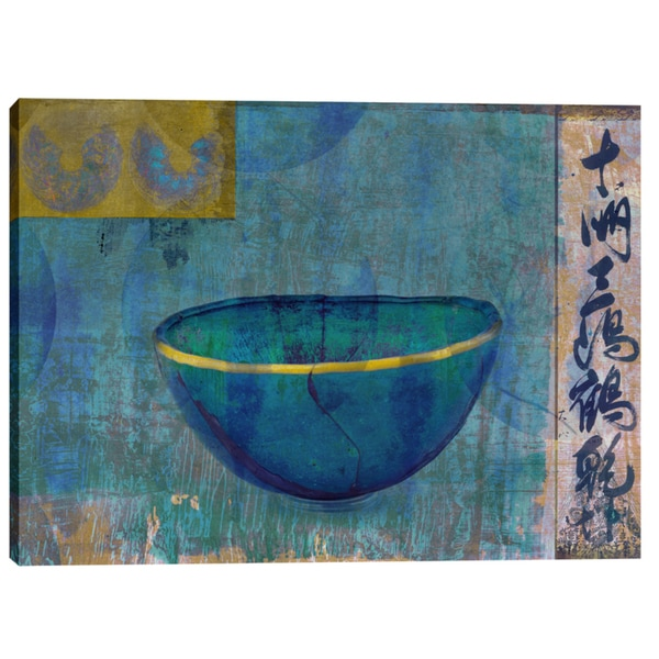 Epic Graffiti Elena Ray 'Blue Bowl' Giclee Canvas Wall Art 24981027