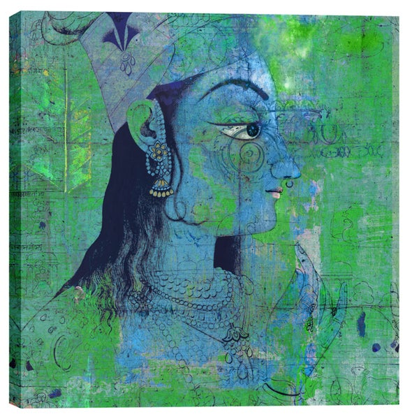 Epic Graffiti Elena Ray 'Classic Krishna' Giclee Canvas Wall Art 24981042