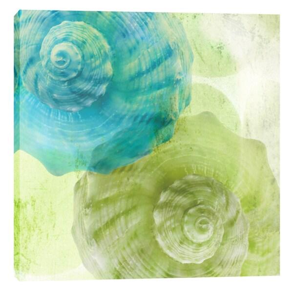 Epic Graffiti Elena Ray 'Luminous Seashells 3' Giclee Canvas Wall Art 24981084