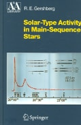 Solar-Type Activity In Main-Sequence Stars (Hardcover)