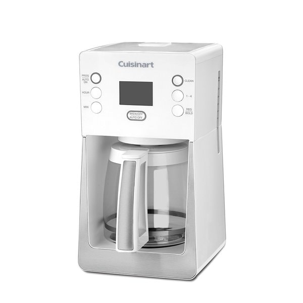 Cuisinart DCC-2800WFR 14 Cup Perfec Temp Programmable Coffeemaker White (Refurbished) 24995506