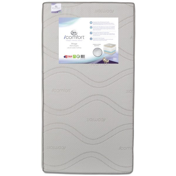 Serta iComfort Mirage Firm Foam Crib and Toddler Mattress 24995963