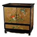 Empress Lacquered Gold Leaf Jewel Box (China)