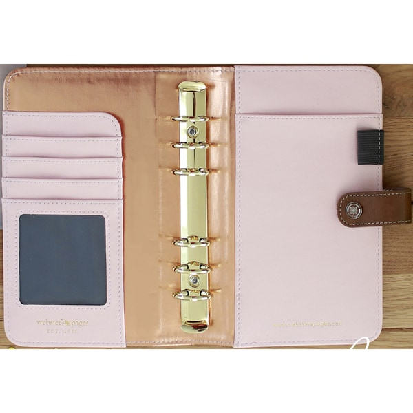 """Color Crush Faux Leather Personal Planner Kit 5.5""""X8"""" 25015668"""
