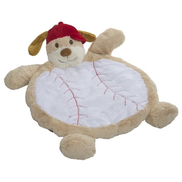 Mary Meyer Baseball Puppy Bestever Baby Mat 25043043