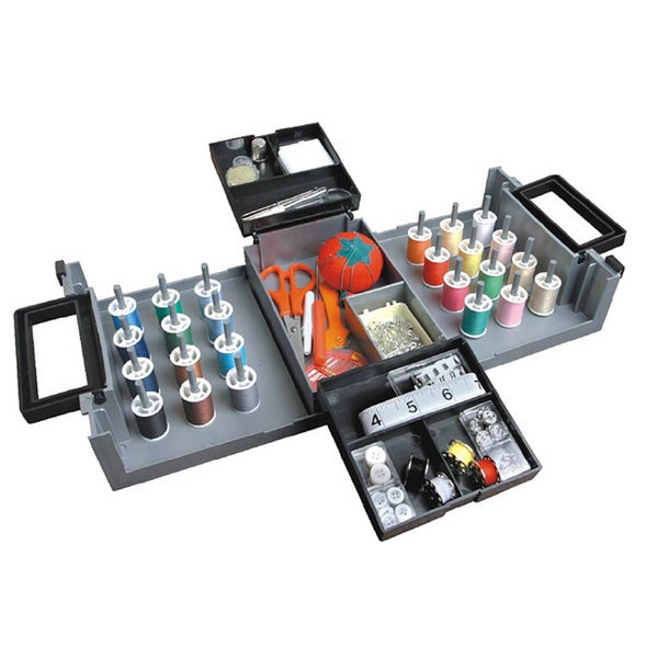 Foldaway Sewing Box with Accessories
