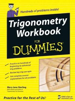 Trigonometry Workbook For Dummies (Paperback)