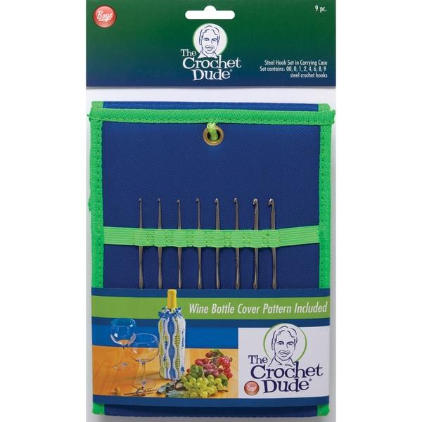 Crochet Dude Steel Crochet Hook Set-Sizes 00 To 9 25132141