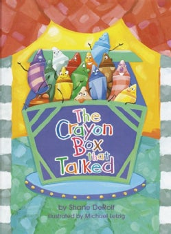 The Crayon Box That Talked (Hardcover)