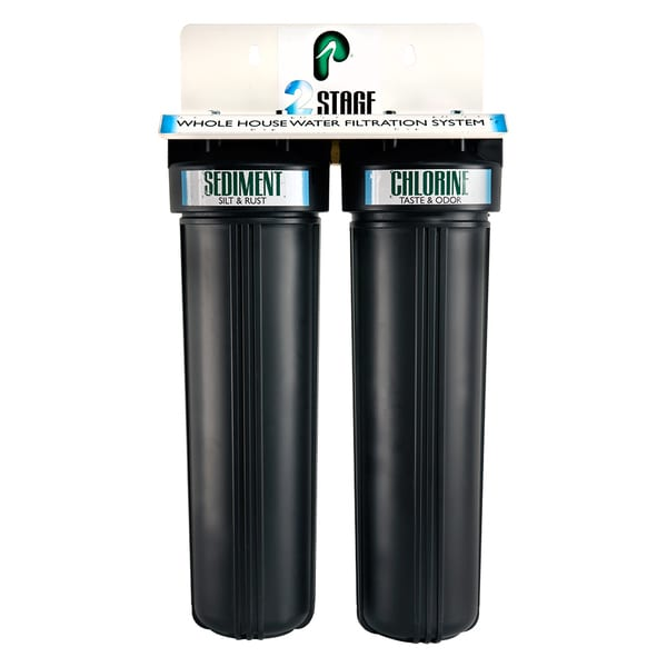 Pelican Water 2 Stage Whole House Water Filtration System 25159330
