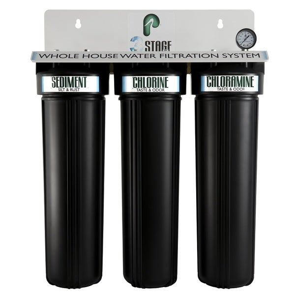 Pelican Water 3 Stage Whole House Water Filtration System 25159331