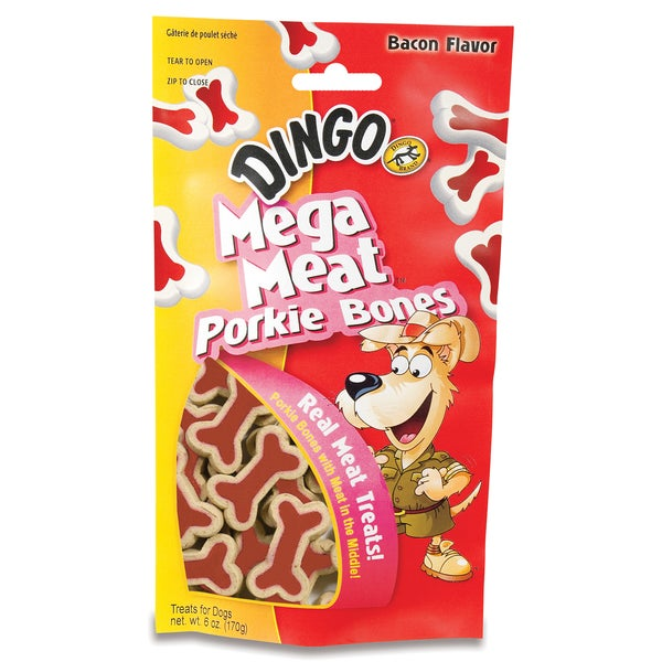 Dingo 6 Oz Porkie Bones Dog Treats 25159447